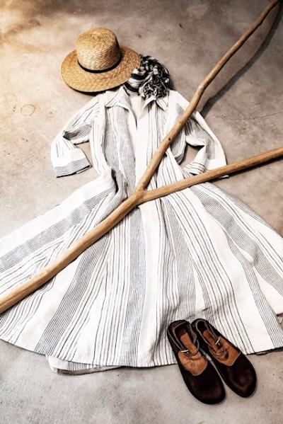 リネンの服